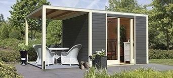 gartenh user pavillons bei holzland vogt. Black Bedroom Furniture Sets. Home Design Ideas
