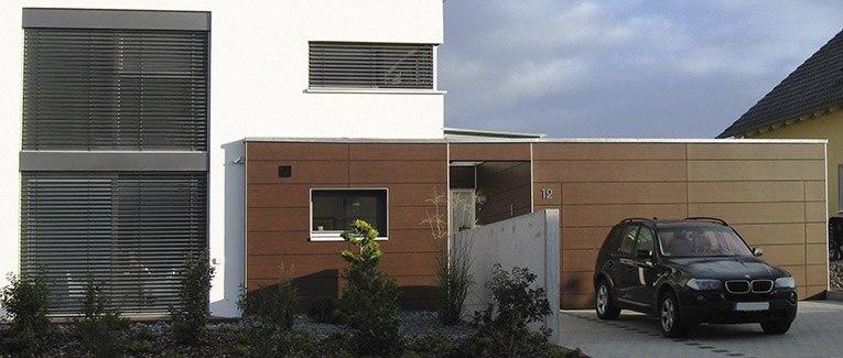 fassade planen umsetzen mit holzland vogt. Black Bedroom Furniture Sets. Home Design Ideas