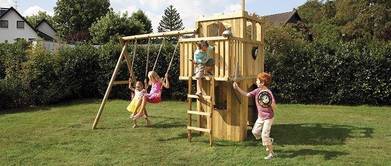 Bevorzugt Kinderspielgeräte aus Holz | Holzland Vogt JK23