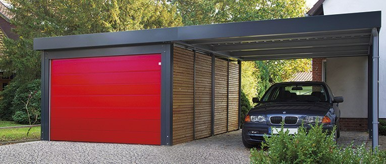 ratgeber carports von holzland vogt in oldenburg. Black Bedroom Furniture Sets. Home Design Ideas
